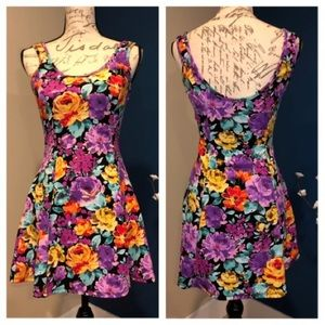 Floral skater dress by Ambiance